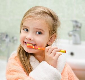 Brushing Teeth - Pediatric Dentist in Macon, GA